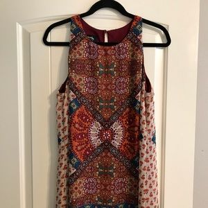 Chiffon printed sundress